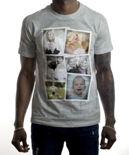T-Shirts - Photo Collection Photo Upload T-shirt - Image 2