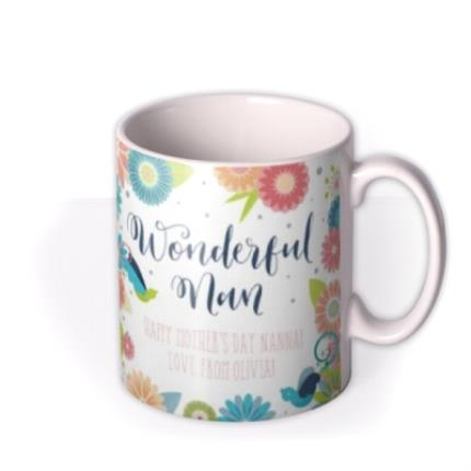 Mugs - Mother's Day Wonderful Photo Upload Mug - Image 2