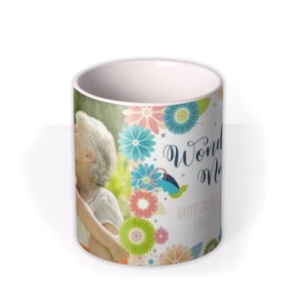 Mugs - Mother's Day Wonderful Photo Upload Mug - Image 3