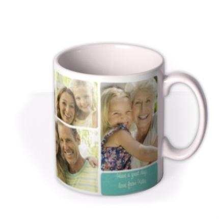 Mugs - Mother's Day Love Collage 5 Photo Upload Mug - Image 2