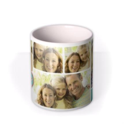 Mugs - Mother's Day Love Collage 5 Photo Upload Mug - Image 3