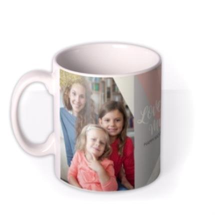 Mugs - Mother's Day Mug - love you Mum - photo upload - Image 1
