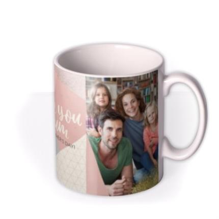 Mugs - Mother's Day Mug - love you Mum - photo upload - Image 2