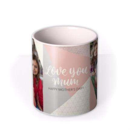 Mugs - Mother's Day Mug - love you Mum - photo upload - Image 3