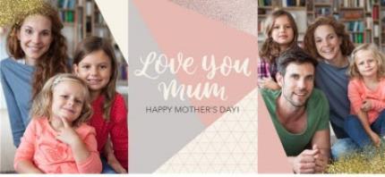 Mugs - Mother's Day Mug - love you Mum - photo upload - Image 4