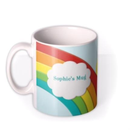 Mugs - Rainbow Photo Upload Mug - Image 1