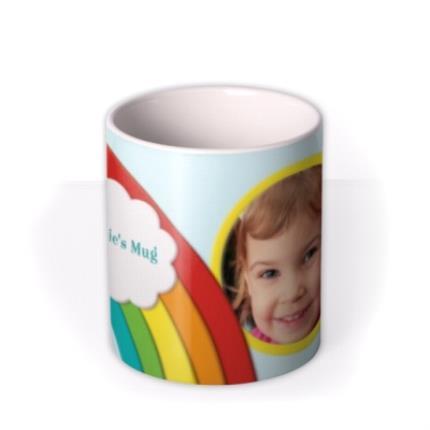 Mugs - Rainbow Photo Upload Mug - Image 3
