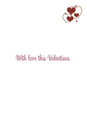 Greeting Cards - 11 Squares Personalised Photo Upload Happy Valentine's Day Card - Image 3