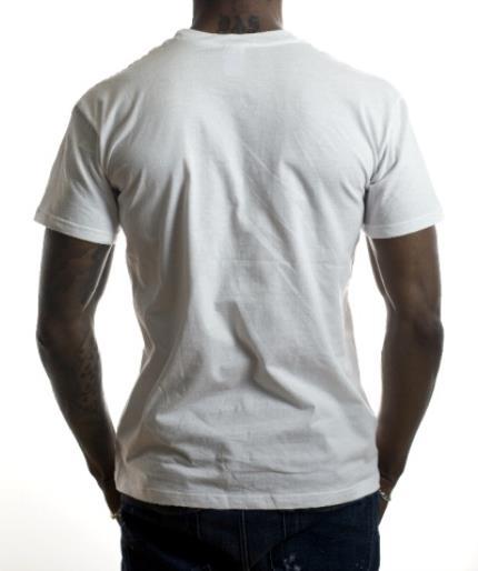 T-Shirts - Rough Edged Rectangle Photo Upload T-Shirt - Image 3
