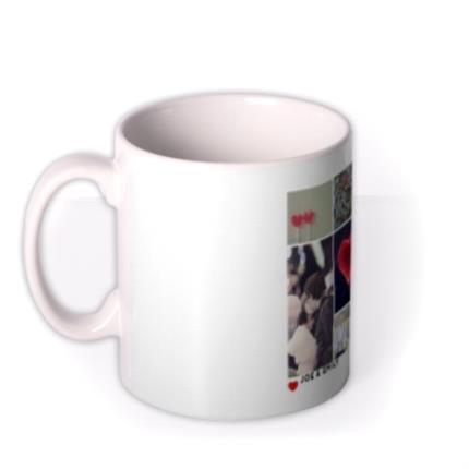 Mugs - Romantic Collage Photo Upload Mug - Image 1