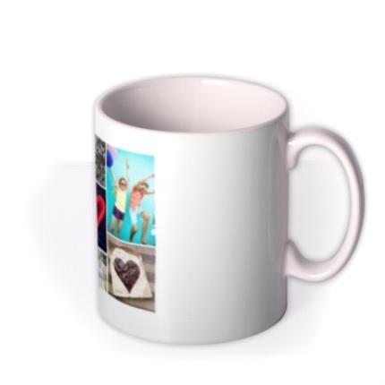 Mugs - Romantic Collage Photo Upload Mug - Image 2