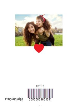 Greeting Cards - Love You Personalised 4 Photo Upload Happy Valentine's Day Card - Image 4