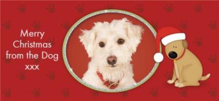 Mugs - Merry Christmas Dog Photo Upload Mug - Image 4
