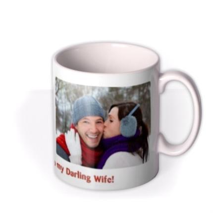 Mugs - Merry Christmas Double Photo Upload Mug - Image 2