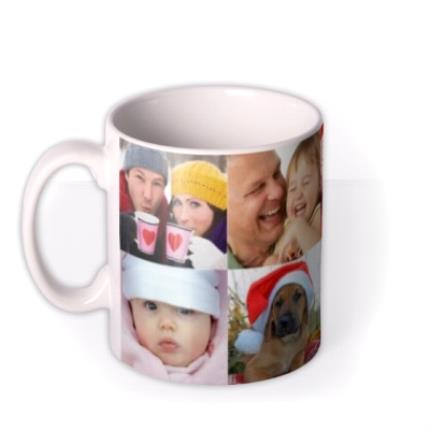 Mugs - Christmas Collection Photo Upload Mug - Image 1