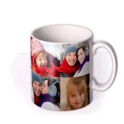 Mugs - Christmas Collection Photo Upload Mug - Image 2
