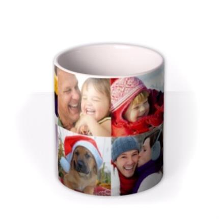 Mugs - Christmas Collection Photo Upload Mug - Image 3