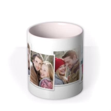 Mugs - Christmas Photo Upload Mug - Image 3