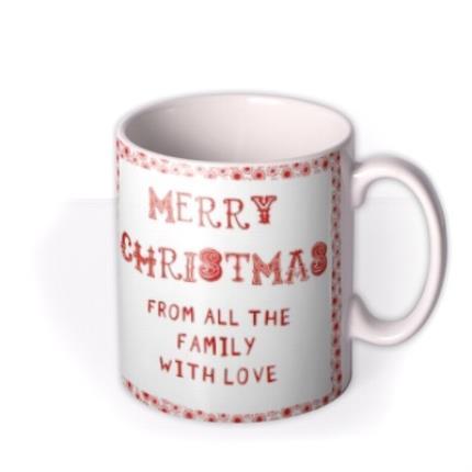 Mugs - Christmas Frame Photo Upload Mug - Image 2