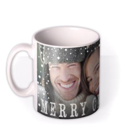 Mugs - Christmas Full Photo Upload Mug - Image 1