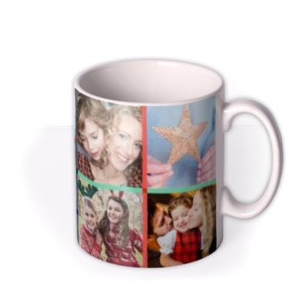Mugs - Merry Christmas With Love Family Photo Upload Mug - Image 2