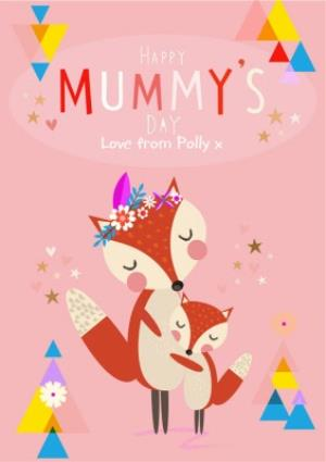 Greeting Cards - Mother's Day Card - Cute Fox Card - Mummy - Image 1