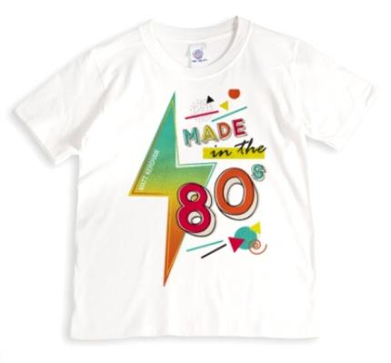 T-Shirts - The 80s Personalised T-Shirt - Image 1