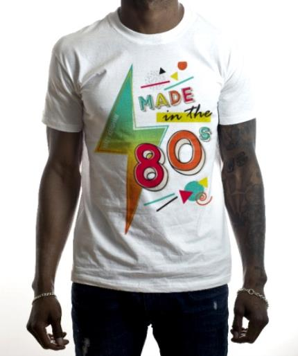 T-Shirts - The 80s Personalised T-Shirt - Image 2