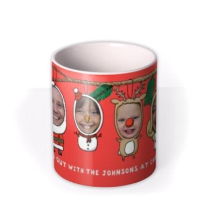 Mugs - Christmas Decorations Photo Upload Mug - Image 3