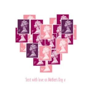 Greeting Cards - Mother's Day Card - heart card - Image 1