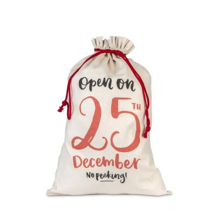 Gifts For Home - 25th Of December Santa Sack - Image 1