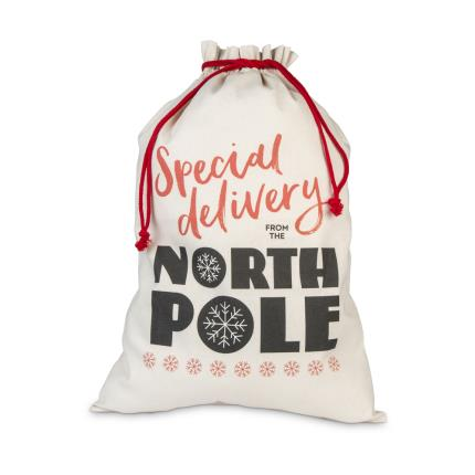 Gifts For Home - North Pole Santa Sack - Image 1