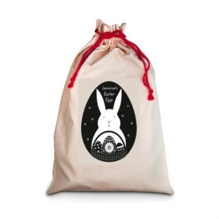 Gifts For Home - Personalised Easter Egg Sack - Image 1