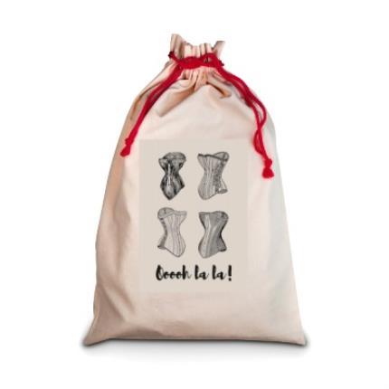 Gifts For Home - Ooh La La Laundry Bag - Image 1