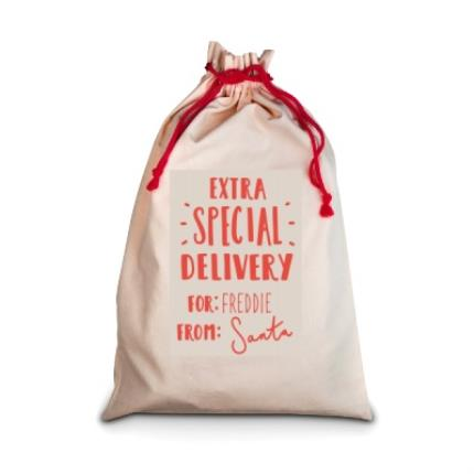 Gifts For Home - Extra Special Delivery For 'Personalised Me' Christmas Sack - Image 1