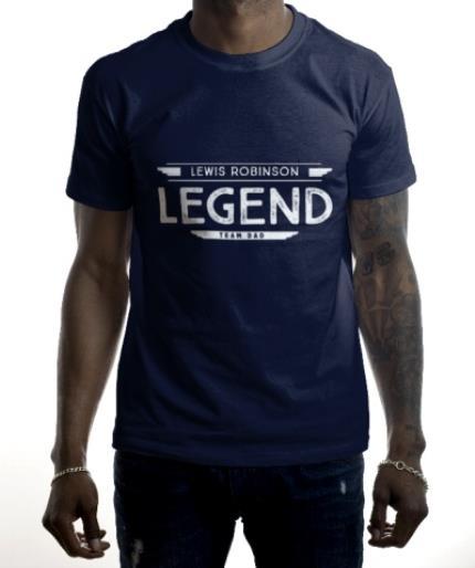 T-Shirts - Personalised Legend T-Shirt  - Image 2