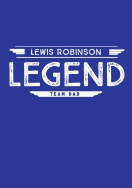 T-Shirts - Personalised Legend T-Shirt  - Image 4