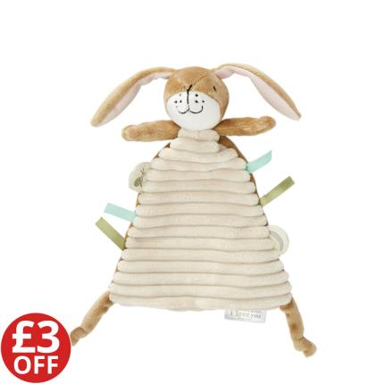 Soft Toys - Little Nutbrown Hare Comfort Blanket - WAS £12 NOW £9 - Image 1