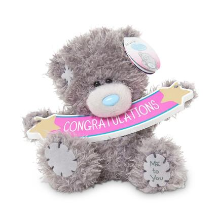 Soft Toys - Congratulations Tatty Teddy - Image 1