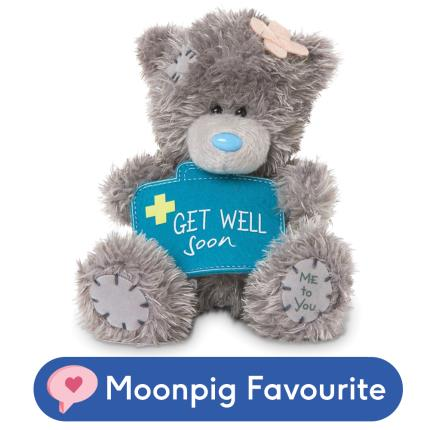 Soft Toys - 'Get Well Soon' Tatty Teddy - Image 1