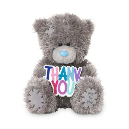 Soft Toys - 'Thank You' Tatty Teddy - Image 1