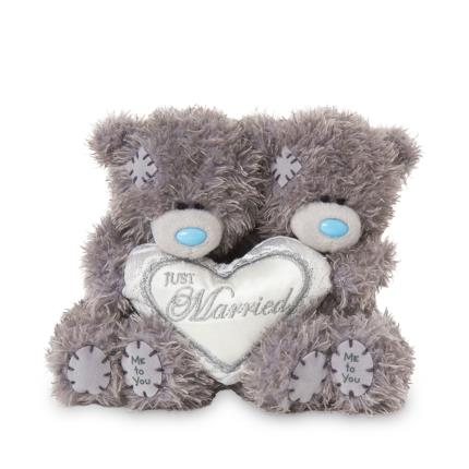 Soft Toys - 'Just Married' Tatty Teddy - Image 1