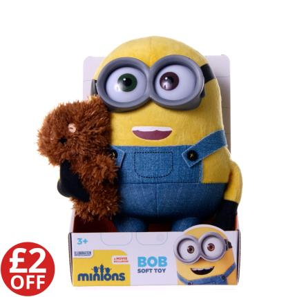 Soft Toys - Minon's Bob Holding a Bear - WAS £15 NOW £13 - Image 1