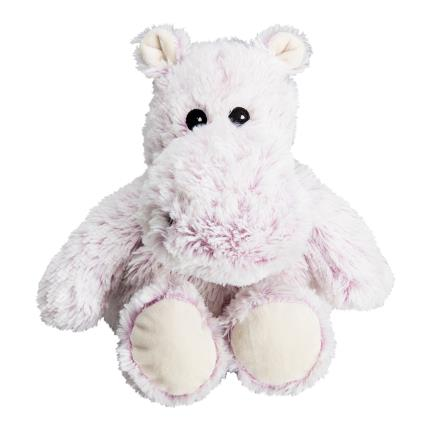 Soft Toys - Warmies Microwavable Cozy Marshmallow Hippo - Image 1
