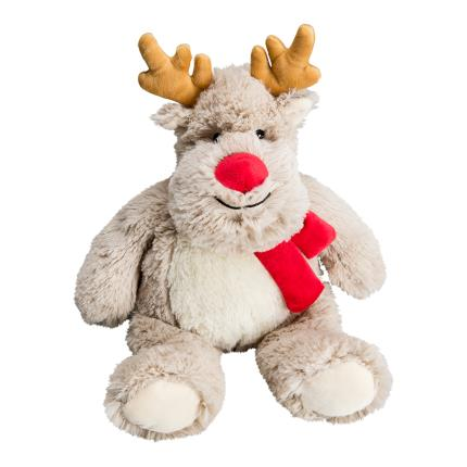 Soft Toys - Warmies Microwavable Cozy Reindeer - Image 1