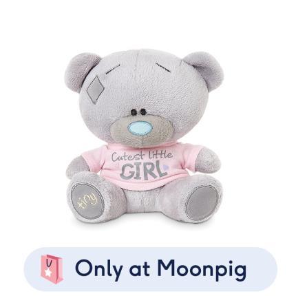 Soft Toys - Tatty Teddy Tiny Cutest Little Girl Soft Toy - Image 1