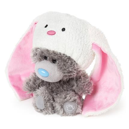 Soft Toys - My Dinky Bear Wearing Bunny Hat - Image 3
