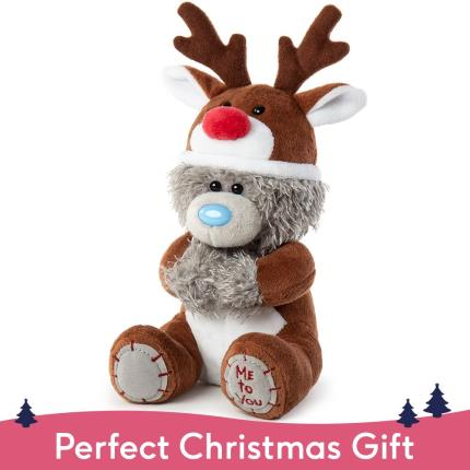 Soft Toys - Exclusive Reindeer Tatty Teddy - Image 1