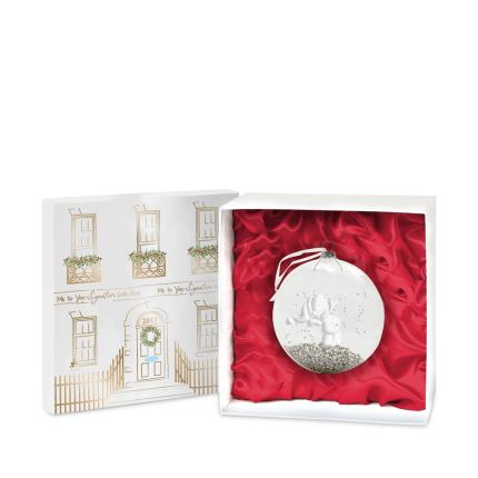 Soft Toys - Tatty Teddy Glass Bauble in Gift Box - Image 1