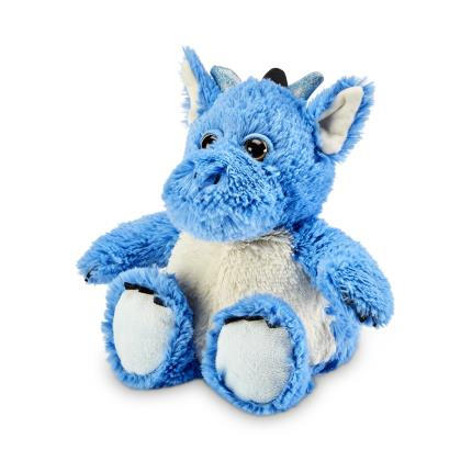 Soft Toys - Warmies Microwavable Cozy Blue Dragon - Image 1